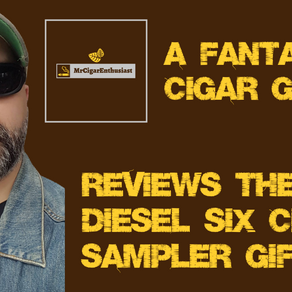 MrCigarEnthusiast Reviews The Diesel Six Cigar Sampler Gift Set