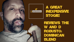 MrCigarEnthusiast Reviews The W&D Robusto - Dominican Blend