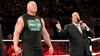 Brock Is Staying...Like It Or Not!