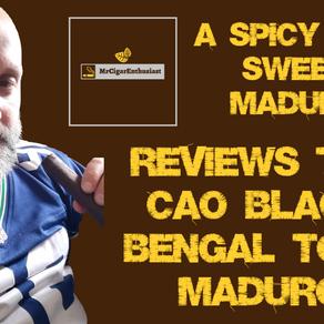 MrCigarEnthusiast Reviews The CAO Black Bengal Toro Maduro