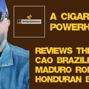 MrCigarEnthusiast Reviews The CAO Brazilia Maduro Robusto - Honduran Blend