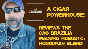 MrCigarEnthusiast Reviews The CAO Brazilia Maduro Robusto - Honduran Blend
