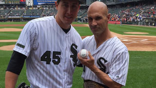 ROH Champion Throws Out First Pitch For The Chicago White Sox