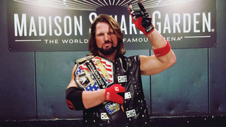 Video Of A.J. Styles Winning The WWE United States Title