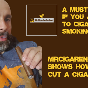 MrCigarEnthusiast Shows How To Cut A Cigar