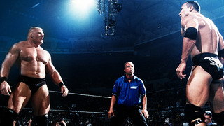 The Rock Was Integral In Brock Lesnar's First WWE Championship