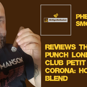 MrCigarEnthusiast Reviews The Punch London Club Petit Corona - Honduran Blend