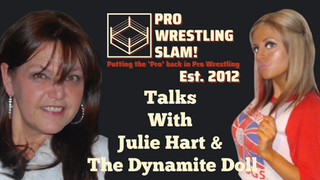 """Interview With Julie Hart & """"The Dynamite Doll"""" Bronwyne Billington"""