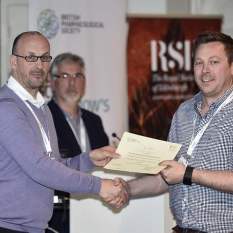 Douglas wins Pharmacology oral communication prize