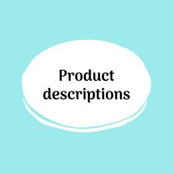 Copy By Her Product Description Portfoli