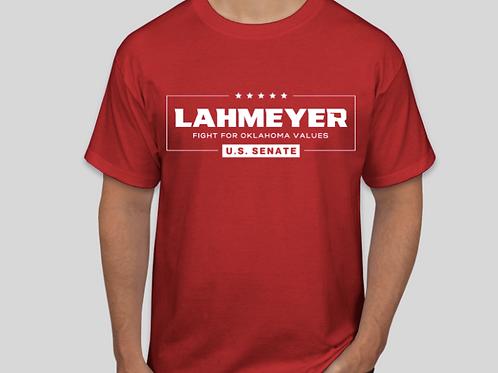Lahmeyer For U.S. Senate T-Shirt