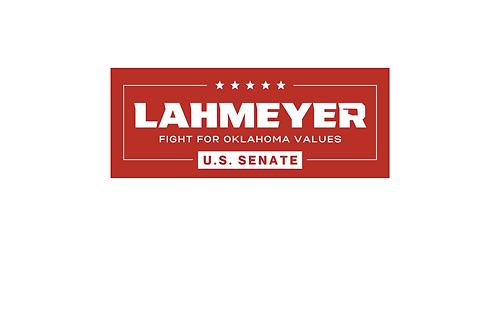 Lahmeyer For U.S. Senate Bumper Sticker