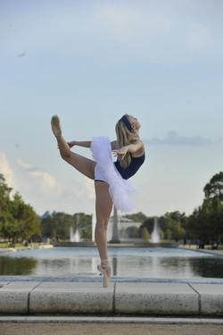 Dancing in Hermann Park