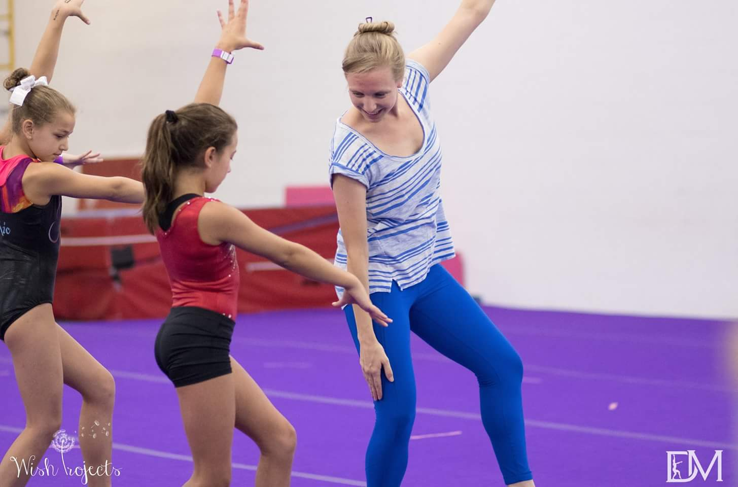 Coaching gymnasts