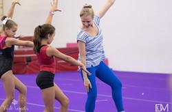 Coaching gymnasts