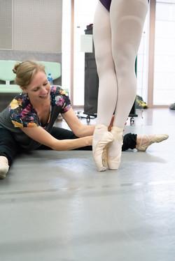 Ballet Workshop - Pointe Class