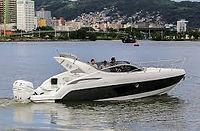 1ª Phantom 303 com motores de popa no Rio de Janeiro