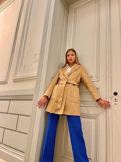 The Davos Coat Camel
