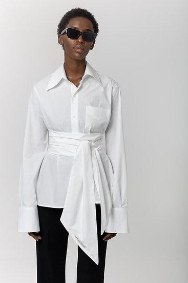 Raphaella Santana White Shirt