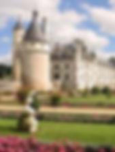 """Royal residences Paris france tourism tours itineraries deborah anthony french Travel Boutique chateux château castle loire valley """"Queen's castle"""" henri II diane de poitiers catherine de medici black draped bed chamber"""