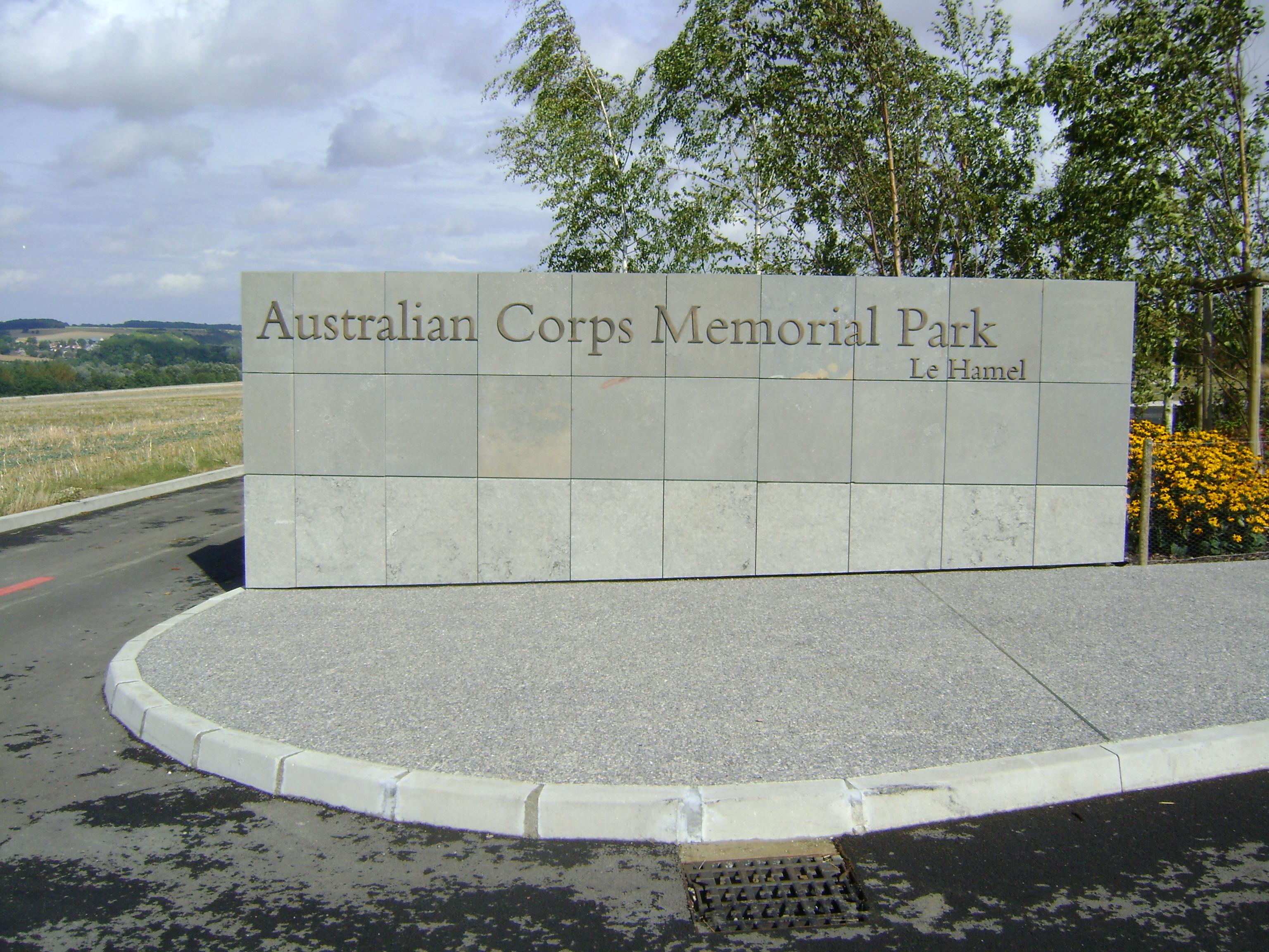Australia Corps Memorial Park