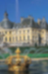 Royal residences Paris france tourism tours itineraries deborah anthony french Travel Boutique chateux château castle le notre vaux-le-vicomte le brun le vau