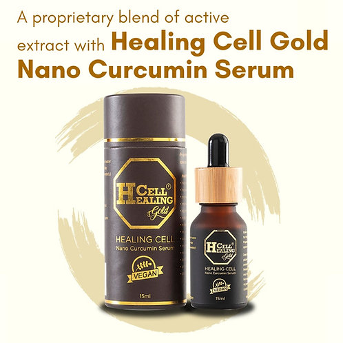 Healingcell Gold Nano Curcumin Serum