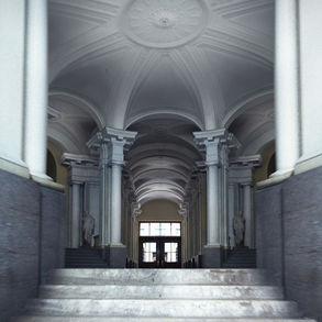 Фойе Академии Художеств