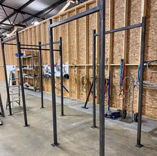 Welded gym equipment