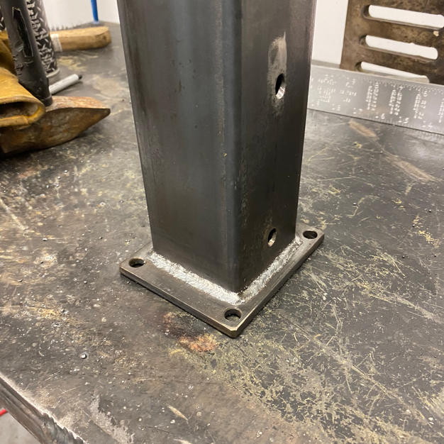 Welded parts
