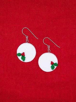 Meet Me Under the Mistletoe Dangle Earrings