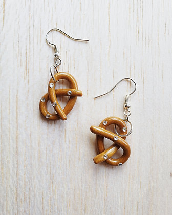 Mini Pretzel Earrings