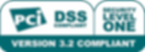 PCI DSS Level 1 Security version 3.2 Compliant