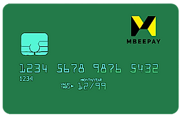 MBEEPAY Card Connected to Wallet Account