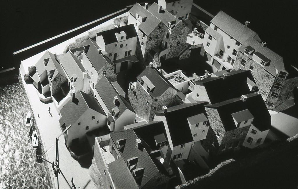 Housing scheme in Brixham Harbour