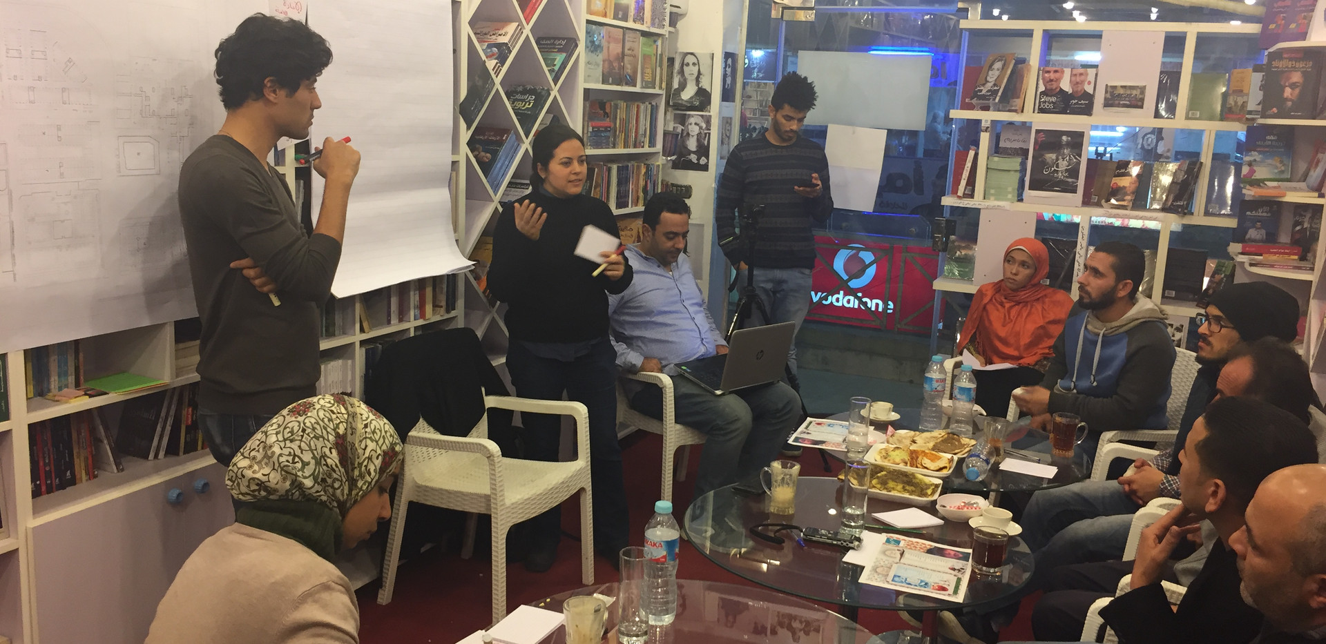 The Participatory Needs Assessment Workshop conducted at the AAA involving shop owners and mall managers