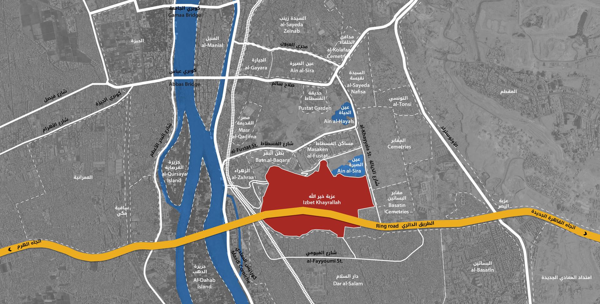Izbit Khayrallah surrounding neighbourhoods