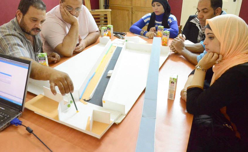 Participatory design workshop with the community leaders