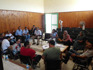 Participatory design workshops with the different project stakeholders at the protectorate