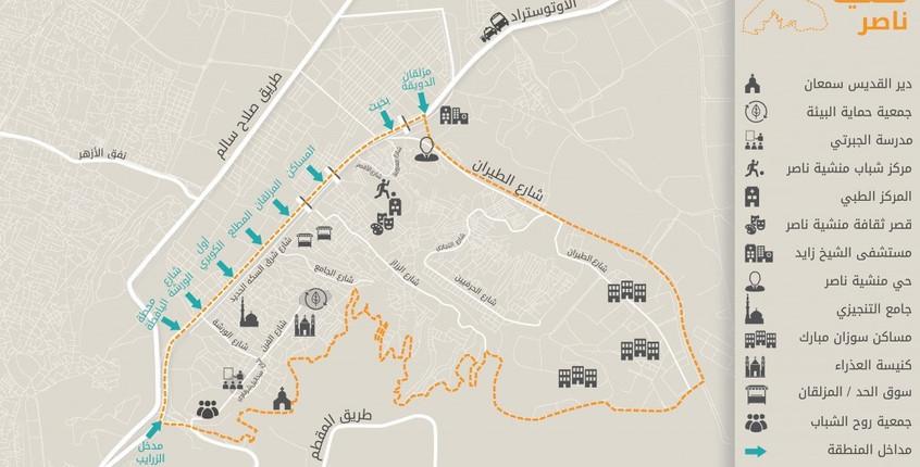 Urban landmarks in Manshiet Nasser