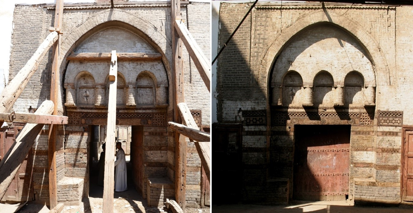 Conservation and adaptive reuse of Wakalet el-Geddawy