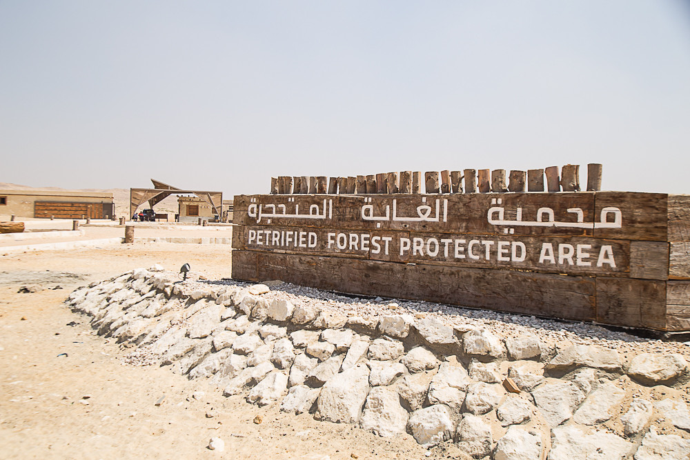 Protectorate Entrance Signage