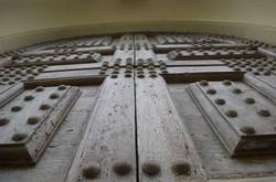 Door stud detail
