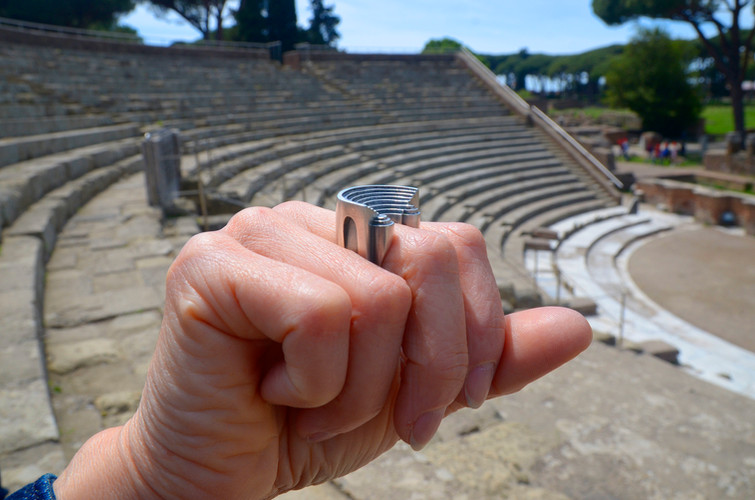 Amphitheater in Ostia Antica