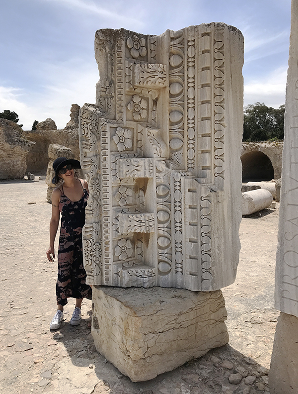 A visit to Carthage in Tunis, 2019