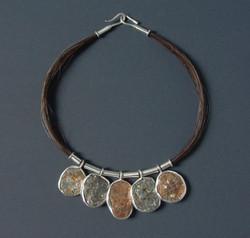 Horse Hair Rocks Necklace