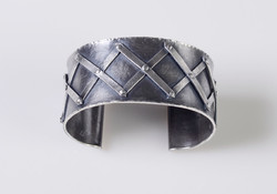 Criss Cross Cuff Bracelet