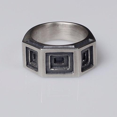 R44 Tri-Coffer Ring