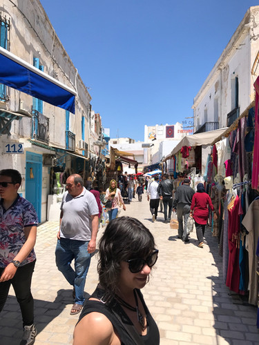 smaller Medina outside Tunis