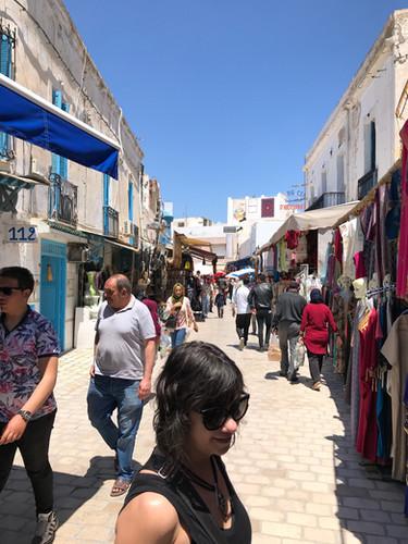 smaller Medina outside Tunis